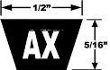 Classic Cogged AX V-Belts