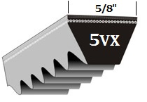 Classic Cogged Wedge 5VX V-Belts